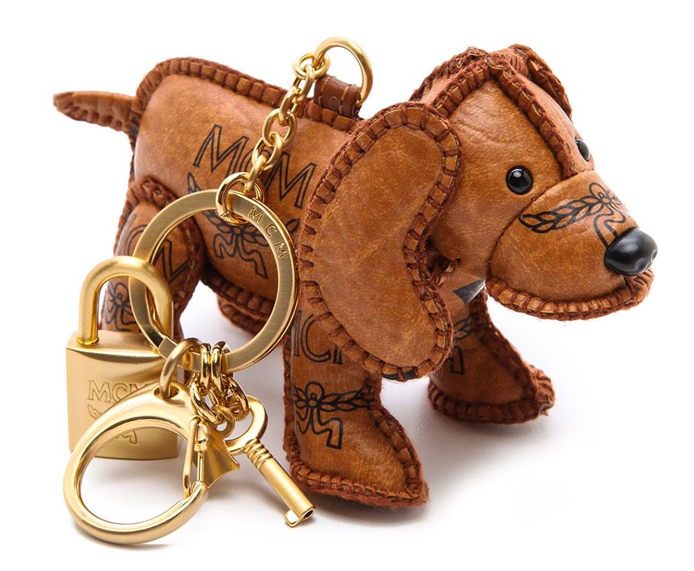 MCM-Heritage-Dog-Bag-Charm