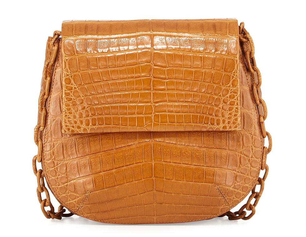 Nancy-Gonzalez-Crocodile-Flap-Bag