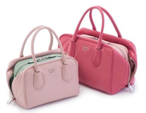 Prada Double Bags Pink