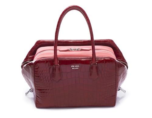 Prada Inside Bag Croco Cherry Tamaris _01