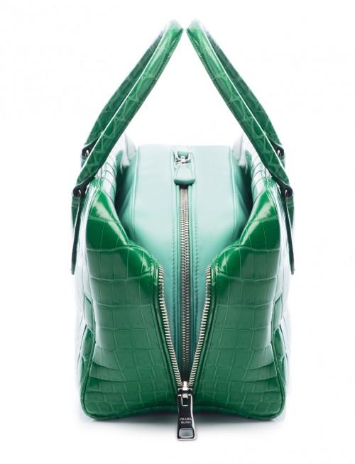 Prada Inside Bag Croco Verde Acquamarina Detail 04