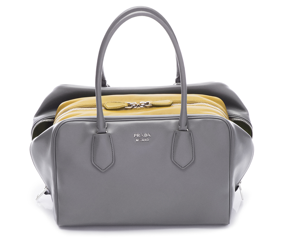Prada Inside Bag Soft Calf Marmo Salvia 01