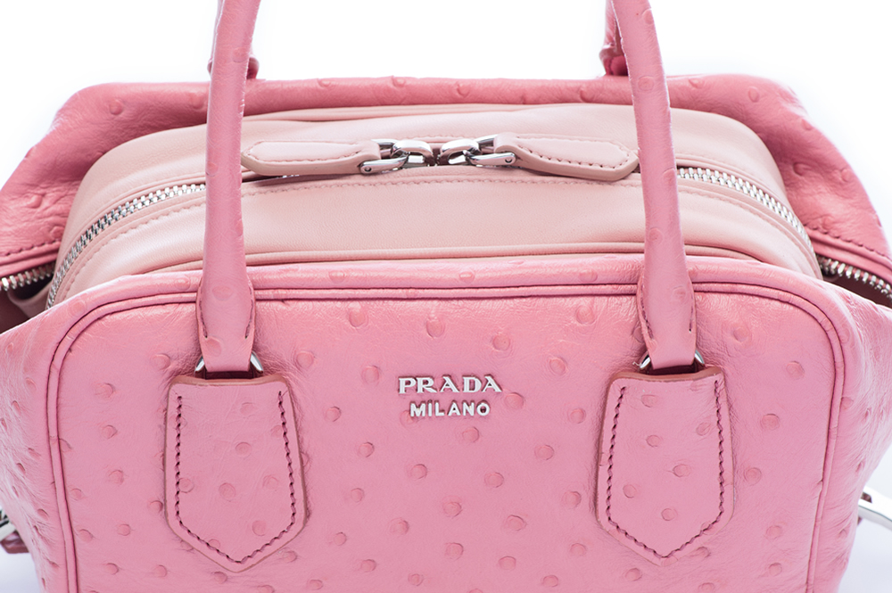 Prada Inside Bag Struzzo Tamaris Pesca Detail 02