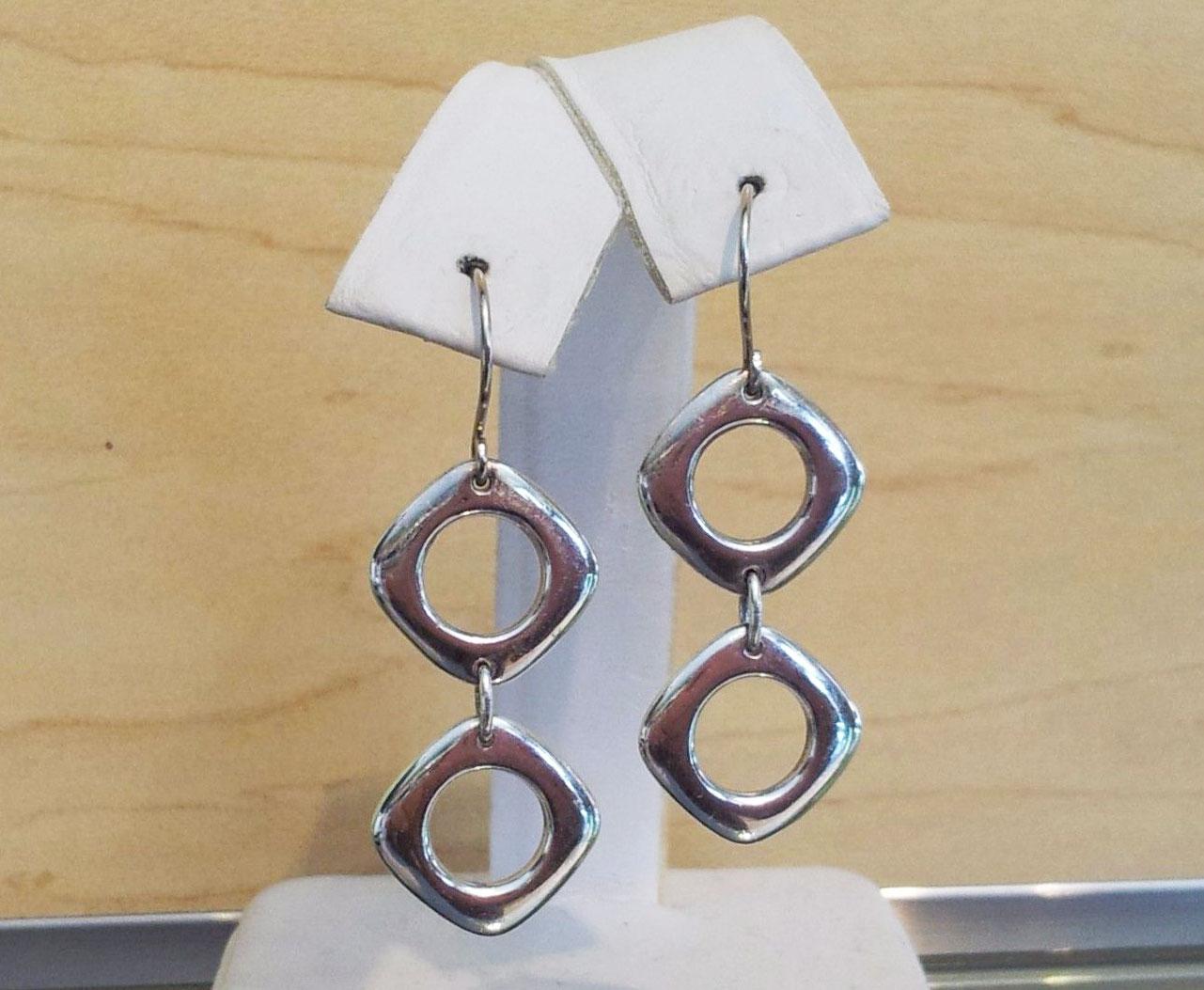 Tiffany-Double-Square-Cushion-Earrings