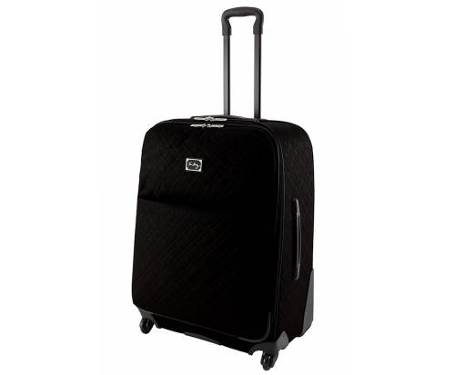 Vera Bradley 27 Spinner Rolling Luggage in Classic Black