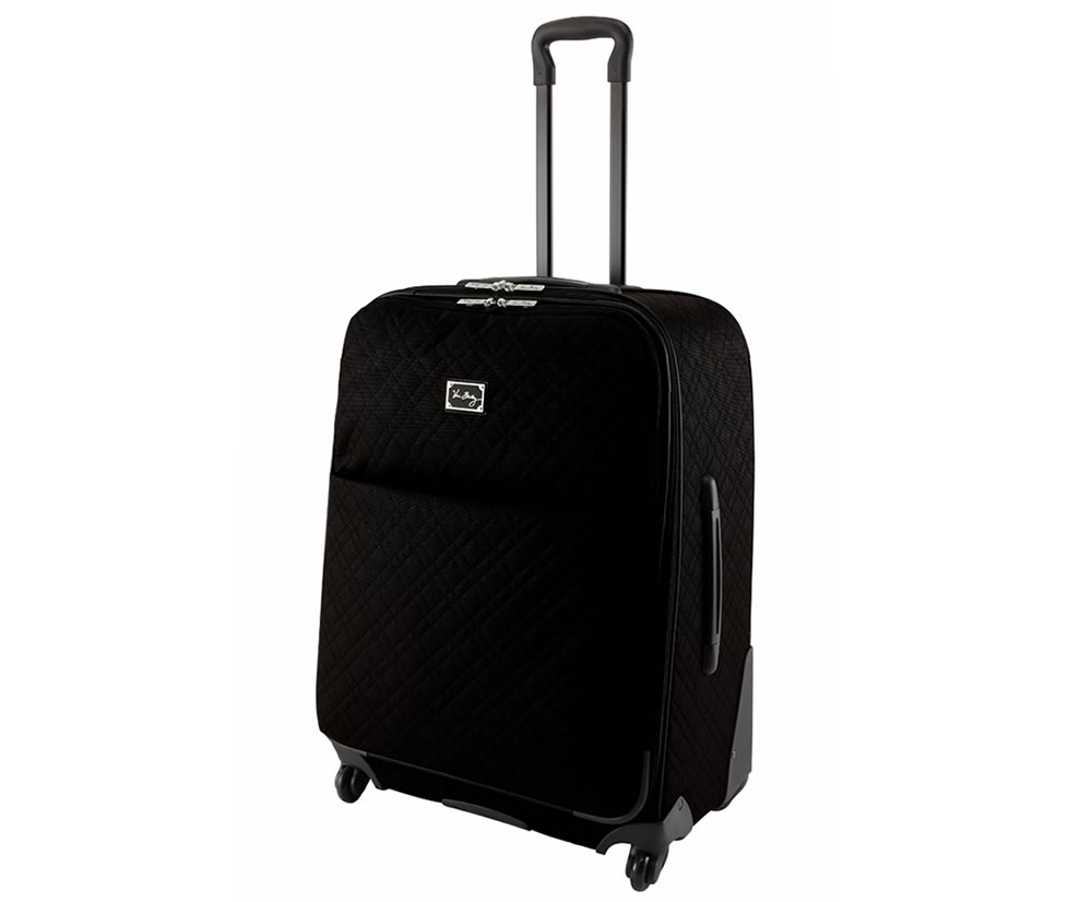 Vera Bradley 27 Spinner Rolling Luggage in Classic Black