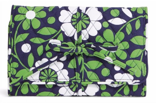 Vera Bradley All Wrapped Up Jewelry Roll in Lucky You