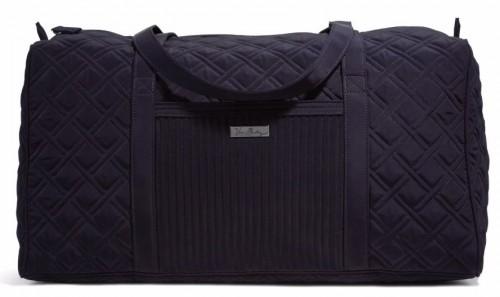 Vera Bradley Large Duffel Travel Bag in Classic Navy