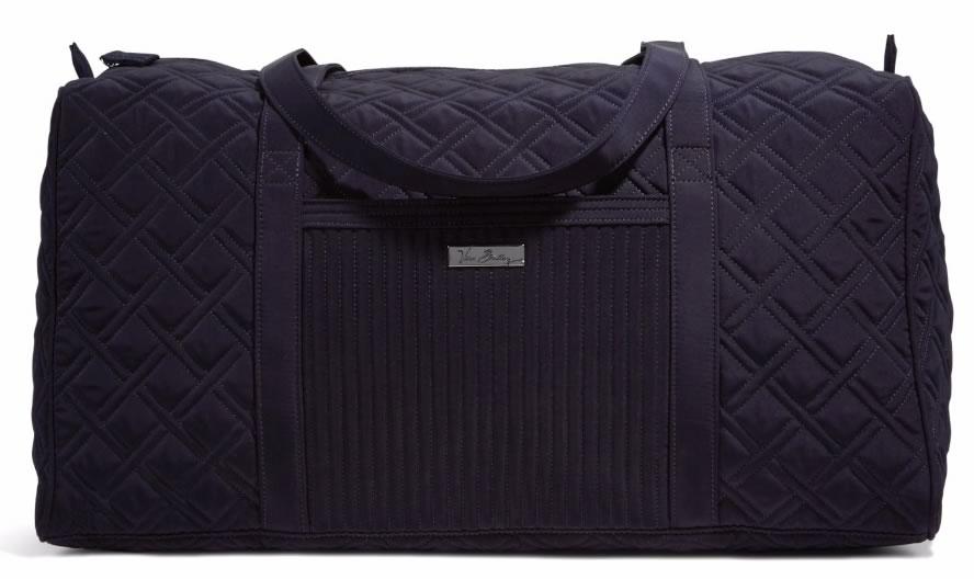 5ba58ed74a Vera Bradley Large Duffel Travel Bag in Classic Navy - PurseBlog