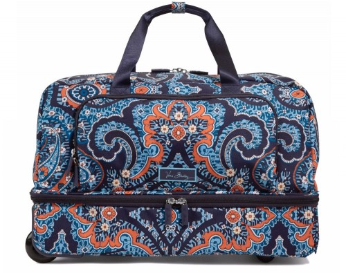 Vera Bradley Lighten Up Wheeled Carry On Luggage in Marrakesh