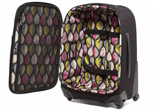 Vera Bradley 22 Spinner Rolling Luggage in Classic Black