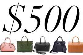 5 Under $500: Leather Satchels