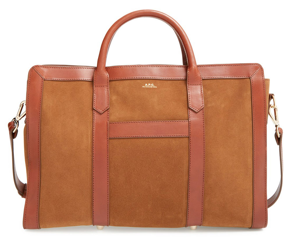 APC-Lydia-Leather-and-Suede-Satchel