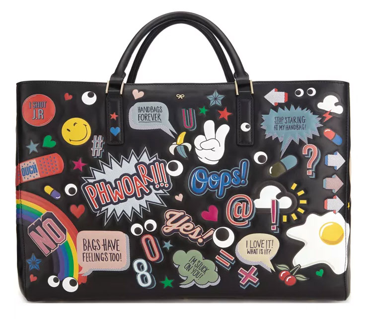 be3aeb0b6c Anya Hindmarch Ebury Featherweight Maxi Stickers Tote $3,500 via Moda  Operandi