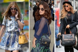 The 10 Best Celebrity Bag Looks of Summer 2015