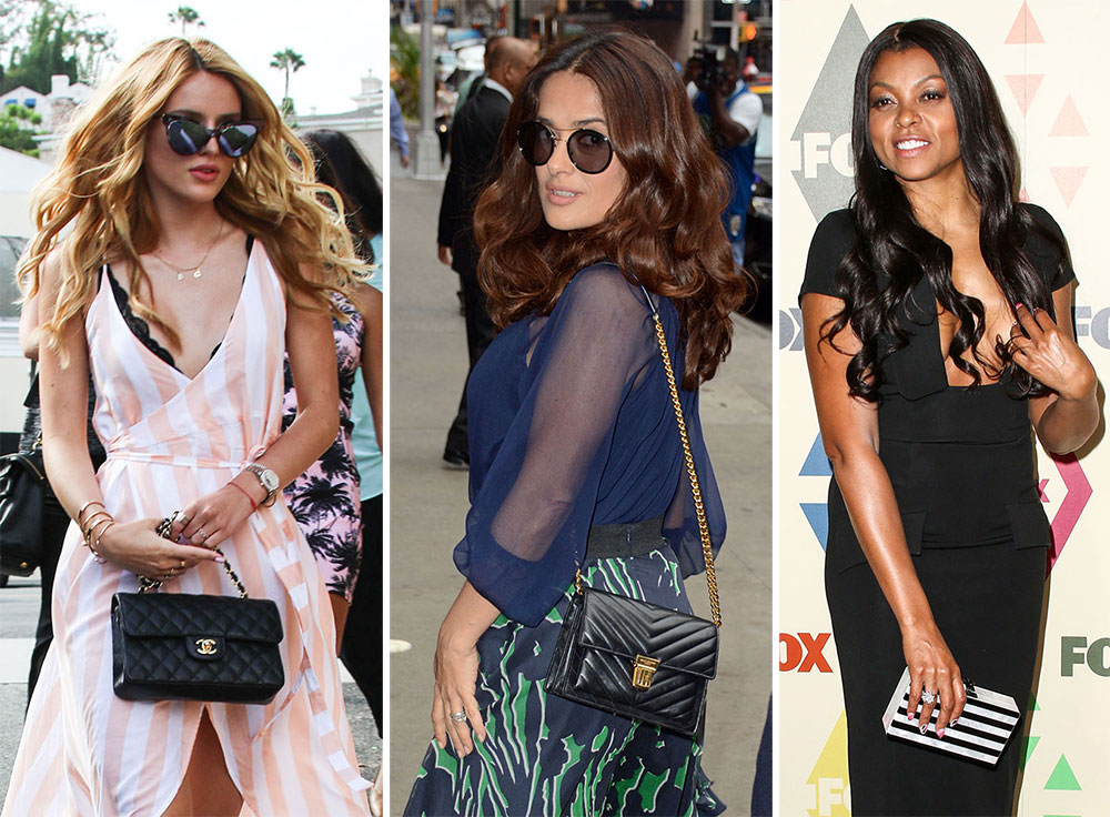 bf72afb018cb Celebrities Are Hot on the Promotional Trail   No Good Bags Will Be Left  Behind