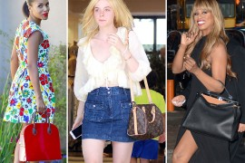 Celebs Love Louis Vuitton & Fendi Bags This Week, Almost Exclusively