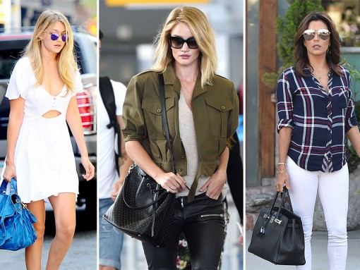 This Week's Handbags Might Be More Interesting Than Their Celebrity Owners