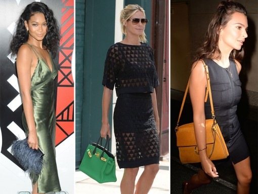 This Week Celebs Go Extra Luxe with High-End Bags From Fendi and Hermès