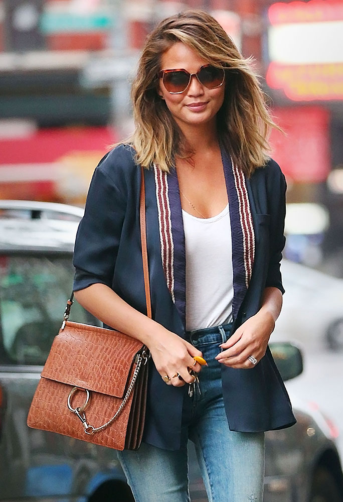 The Many Bags Of Chrissy Teigen Purseblog