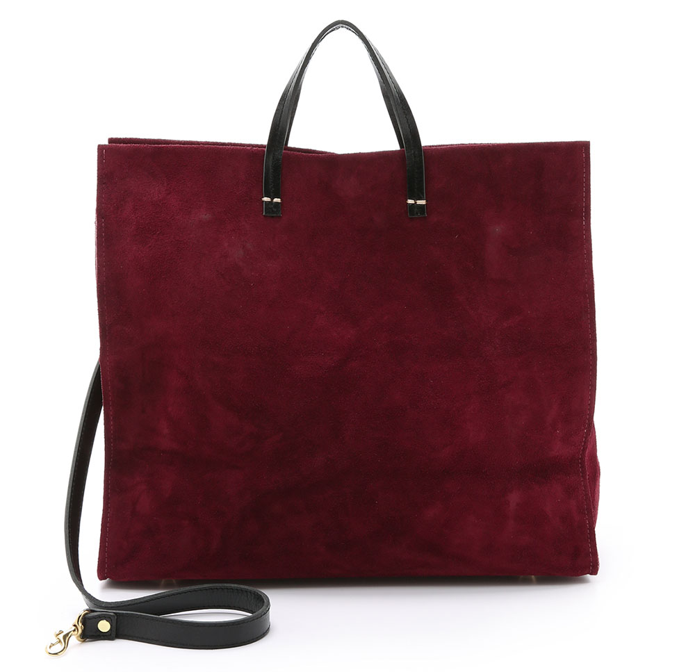 Clare-V-Suede-Simple-Tote