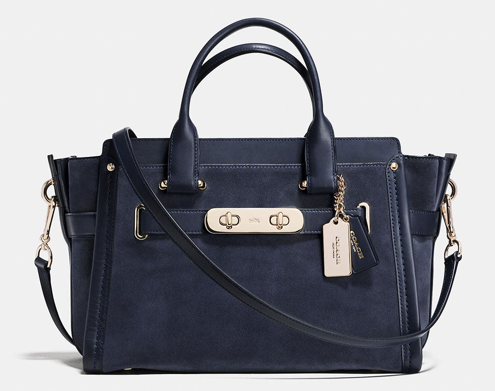 Coach-Suede-Swagger-Bag