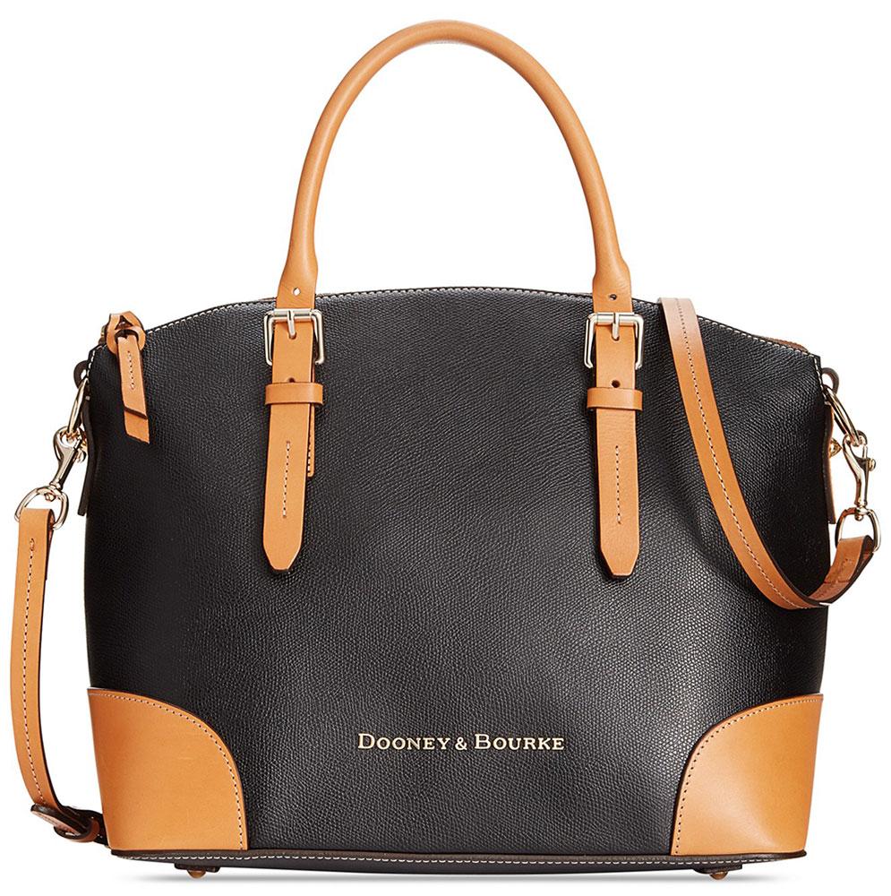 Dooney-and-Bourke-Claremont-Domed-Satchel