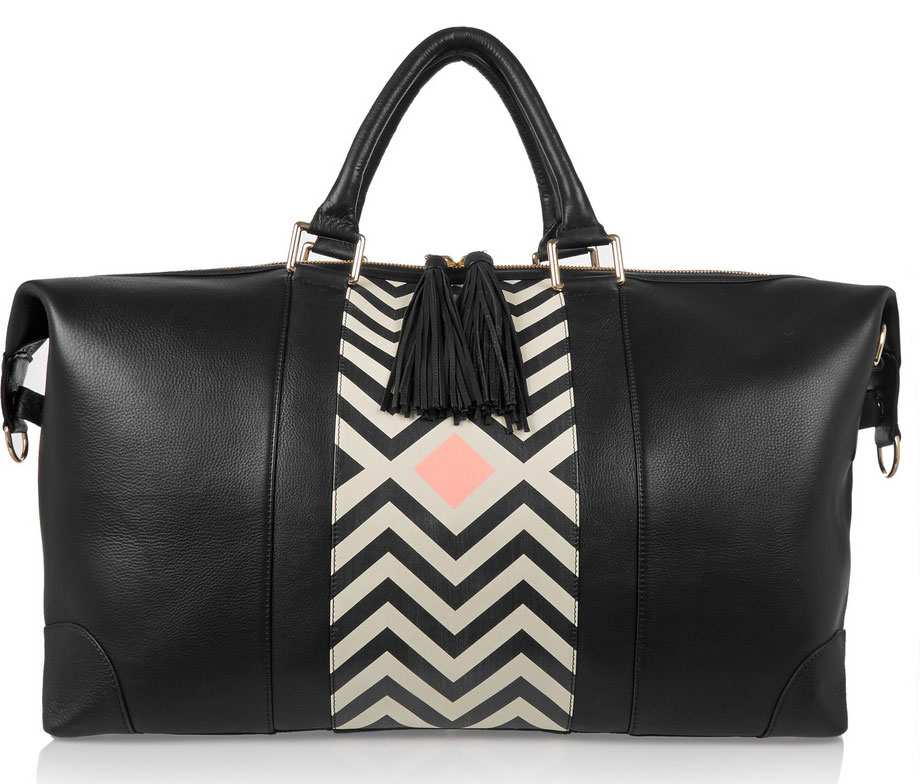 Eddie-Harrop-Chevron-Weekender-Bag