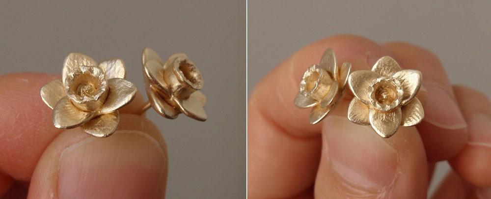 Flower-Stud-Earrings