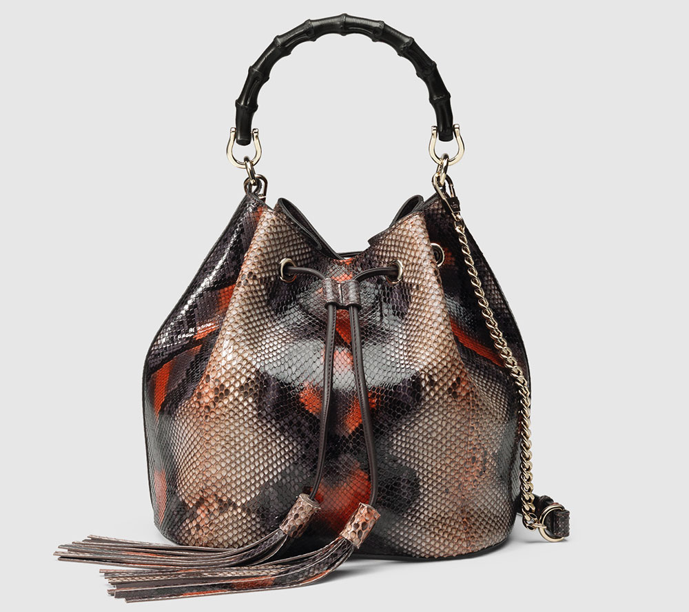 Gucci-Miss-Bamboo-Python-Bucket-Bag