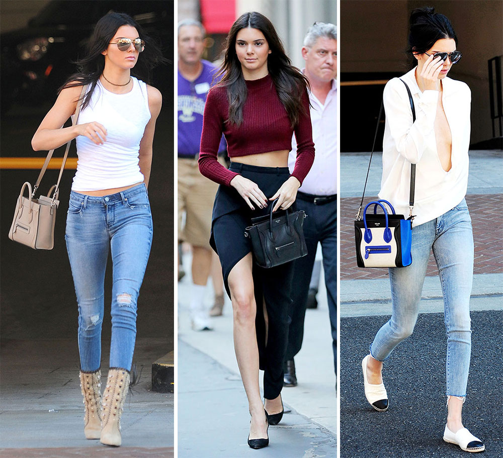 celine trio bag buy online - Kendall Jenner Loves Her C��line Nano Luggage Totes More Than I ...