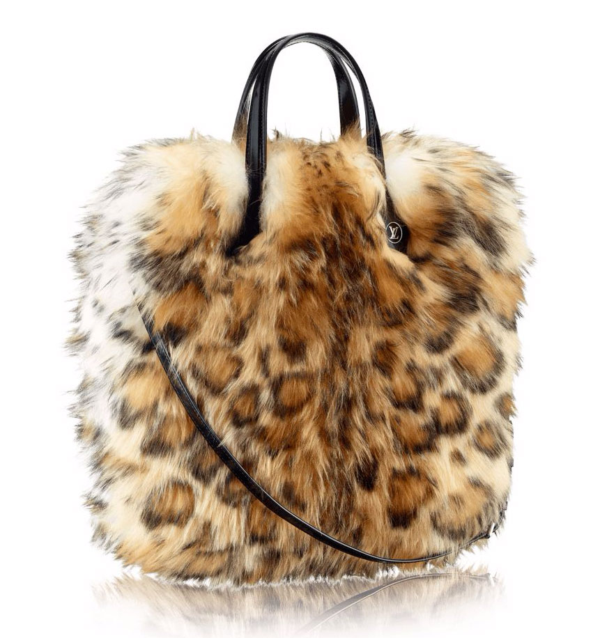 Louis-Vuitton-Leopard-Sheepskin-Sac-Plat-Bag