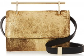 Bag of the Week: M2Malletier Fabricca Metallic Calf Hair Clutch