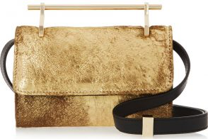 Bag of the Week: M2Malletier Fabricca Metallic Calf Hair Clutch