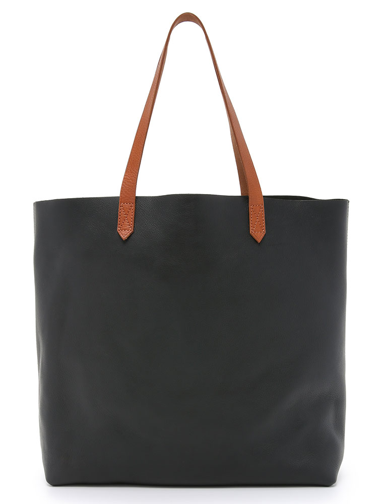 Madewell-Transport-Tote-Black