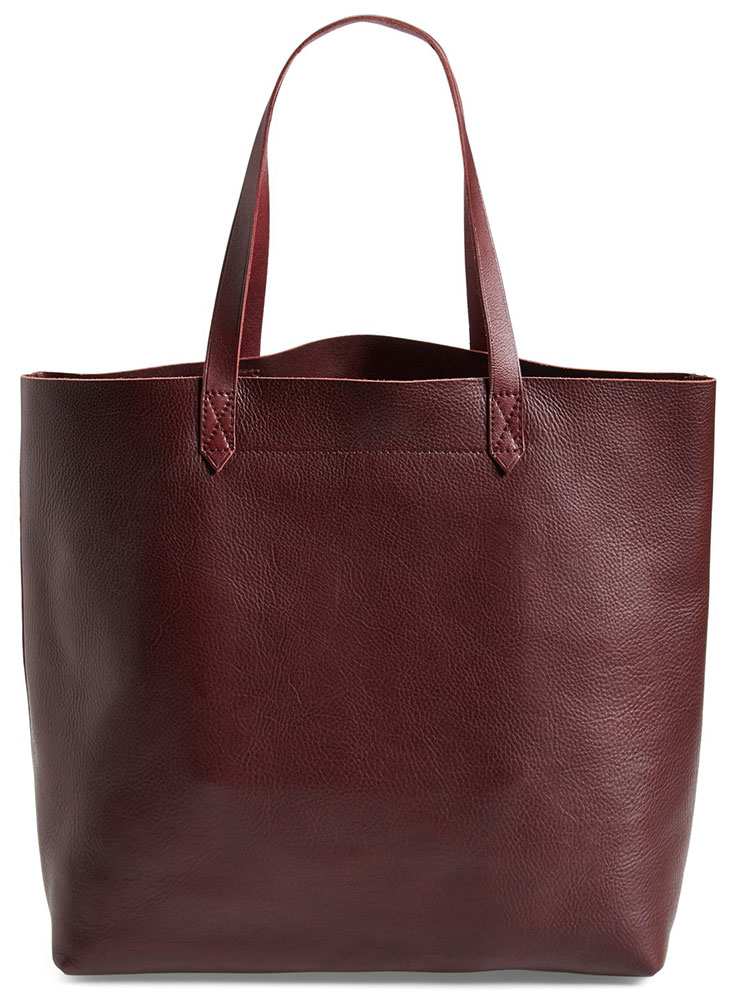 Madewell-Transport-Tote-Burgundy