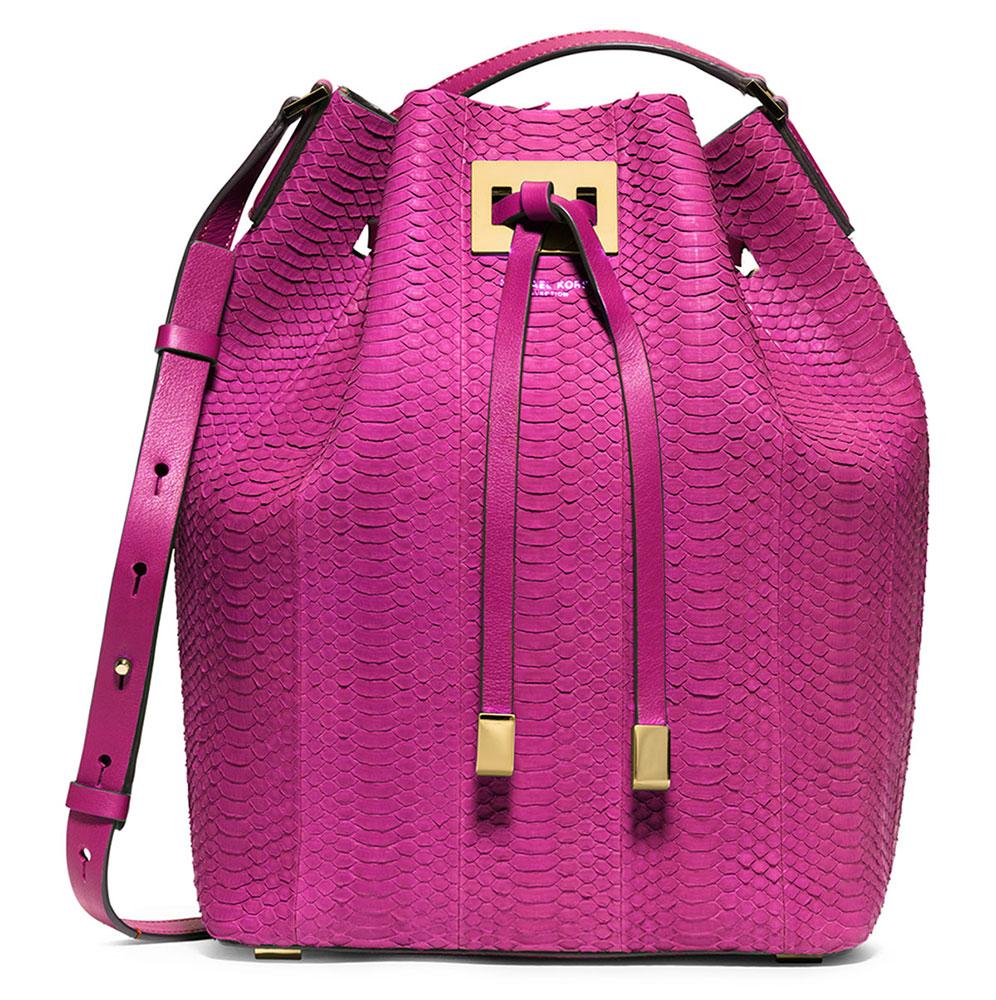 Michael-Kors-Python-Miranda-Bucket-Bag