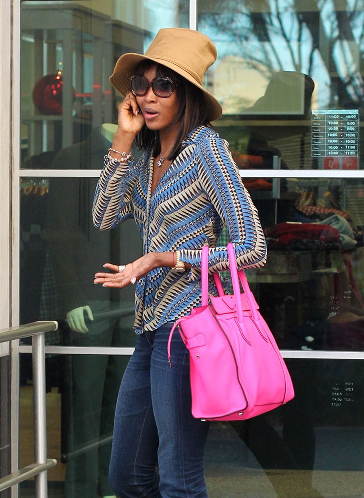 Naomi-Campbell-Celine-Luggage-Tote