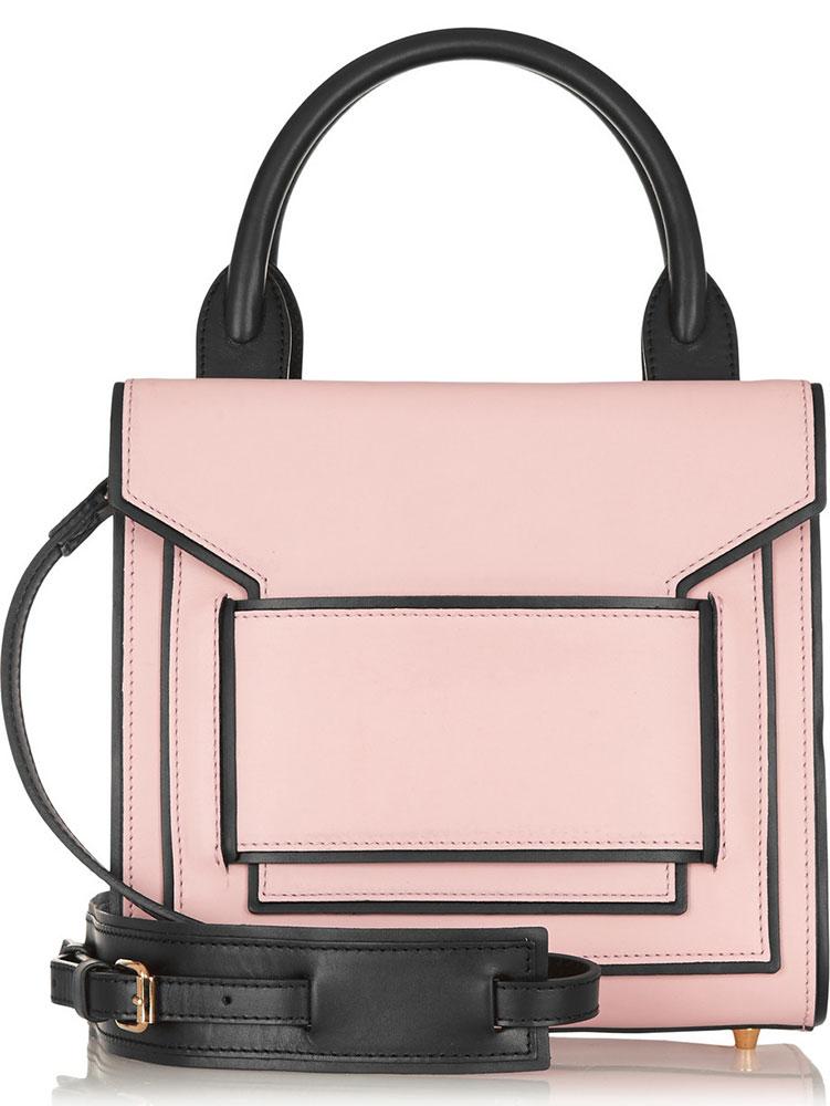 Pierre-Hardy-Leather-Flap-Shoulder-Bag