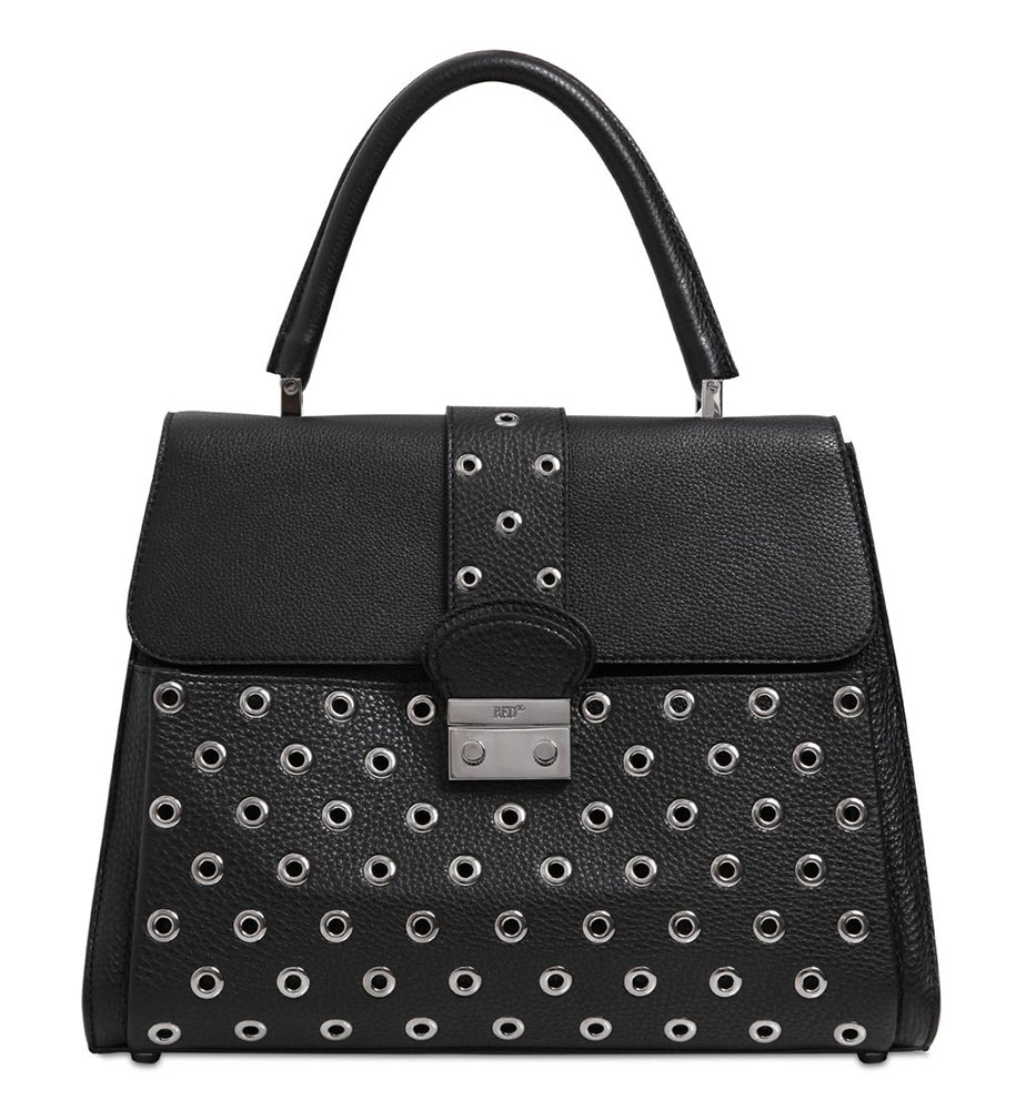 RED-Valentino-Riveted-Top-Handle-Bag