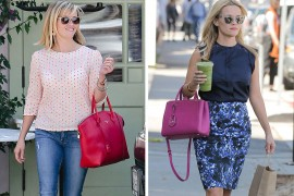 Just Can't Get Enough: Reese Witherspoon and Her Pink Handbags