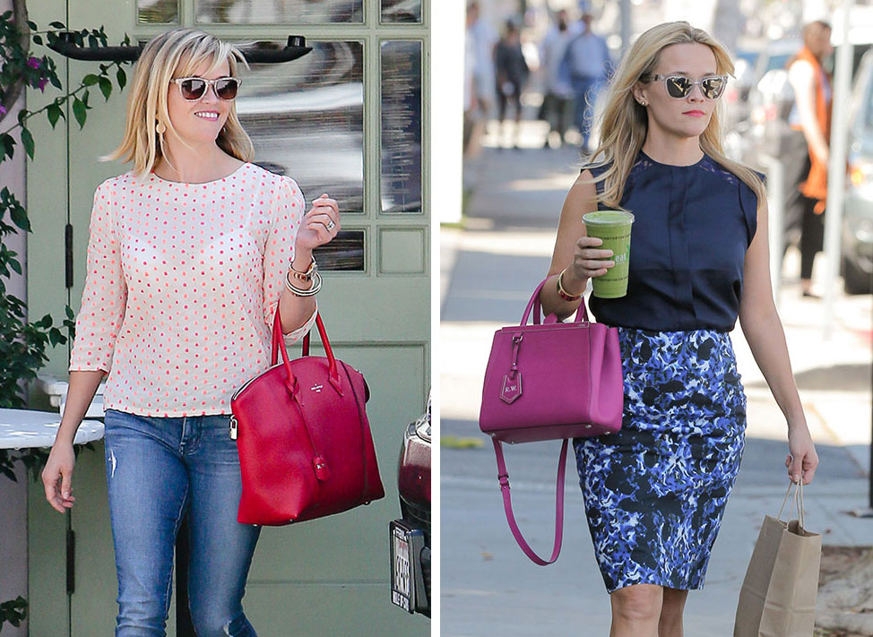 Just Can't Get Enough: Reese Witherspoon and Her Pink ...