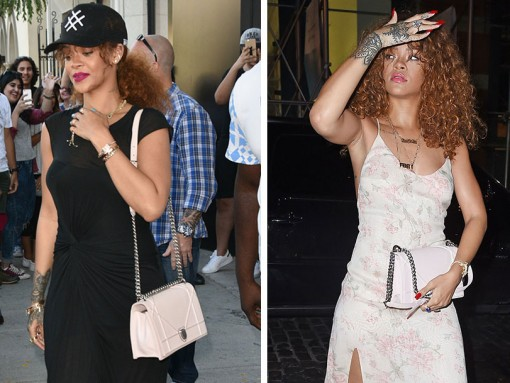 Just Can't Get Enough: Rihanna and Her Christian Dior Diorama Bag