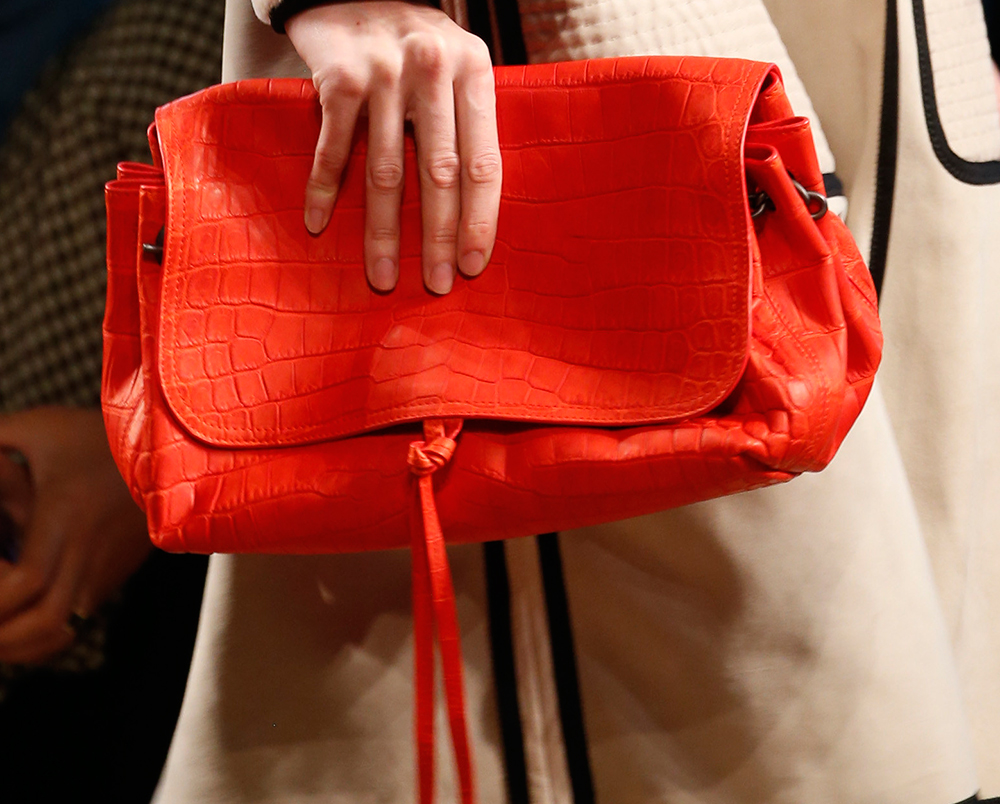 ff7124a343 Bottega Veneta Stuck to What It Knows for Spring 2016 Bags - PurseBlog