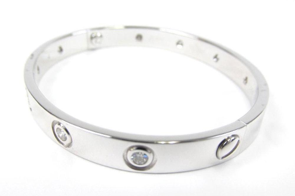Cartier-White-Gold-and-Diamond-Love-Bracelet