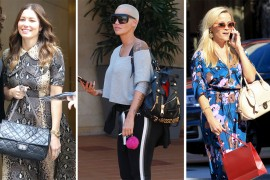 There's a Wealth of Diversity in Celeb Handbag Picks from Milan, Paris, LA & NYC