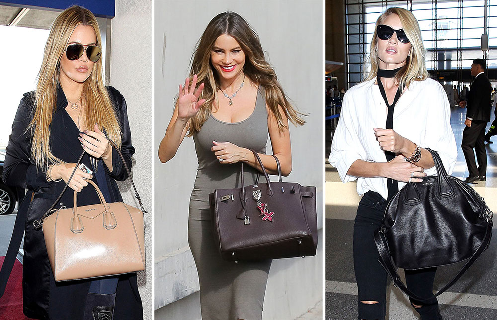 celebrity bags celebrities and brand association Blog about celebrities and their luxury handbags featuring articles and pictures of celebrity bags louis vuitton, gucci, chanel and other brands.
