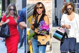 Celebrities Carry Gorgeous New Handbags from Prada, Saint Laurent, Valentino & More