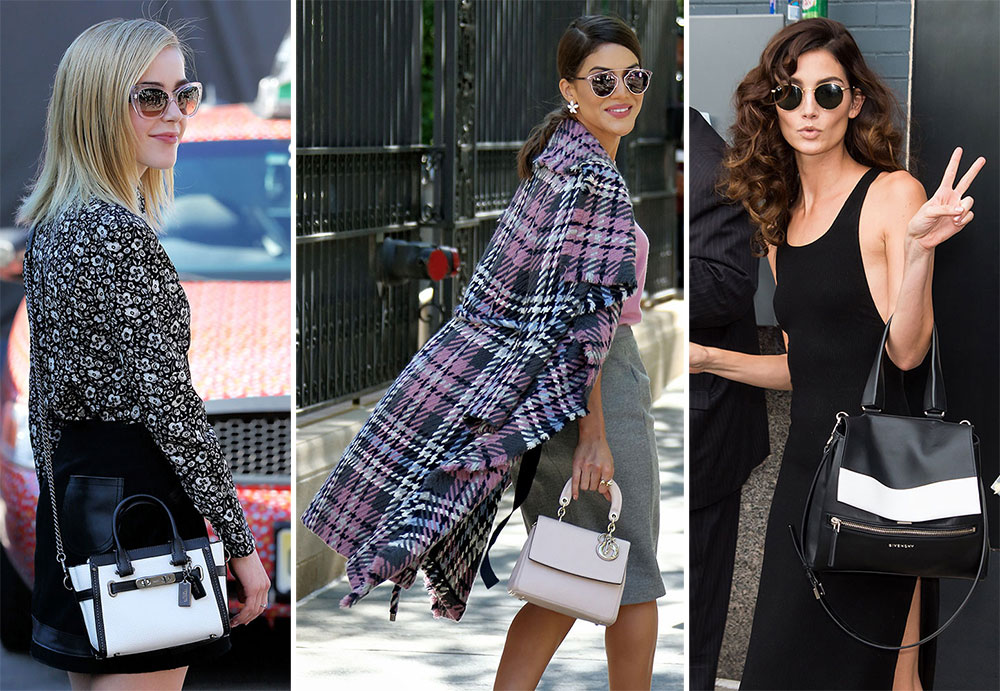 db5a36f343 76 Bags and the Celebrities Who Carried Them to New York Fashion Week  Spring 2016