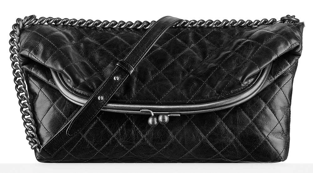 Chanel-Leather-Tabatiere-Kisslock-Bag-3700